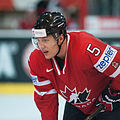 Luke Schenn - Switzerland vs. Canada, 29th April 2012.jpg