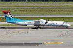 Luxair, LX-LGG, Bombardier Dash 8 Q400 (28383083361).jpg