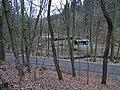 Máslovice, Dolský rybník a silnice 2428.jpg