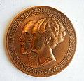 Médaille WILHELMINA-HENDRIK 25e an. mariage 7-2-1926 (1).jpg