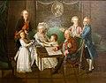 M.N. Volkonskiy with Prozorovsky's family.jpg