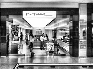 MAC makeup shop