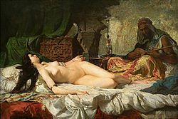 Marià Fortuny Marsal: The Odalisque