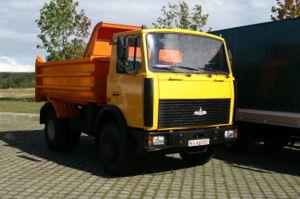 Automotive industry in Belarus - MAZ-5551