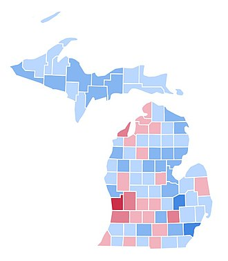 United States presidential election in Michigan, 1996 - Image: MI1996