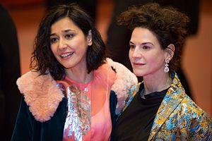 Dorka Gryllus - Dorka Gryllus (left) with Bibiana Beglau at the Berlinale in 2017