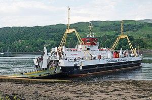 Isle of Bute - MV Loch Dunvegan at Rhubodach slip