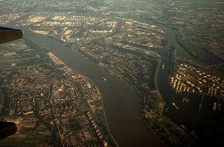 Maassluis Municipality in South Holland, Netherlands