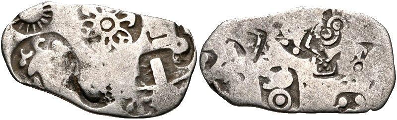 Magadha kingdom Circa 430-320s BC AR Karshapana