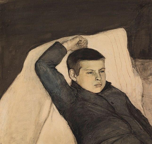 File:Magnus Enckell - Lepäävä poika.jpg