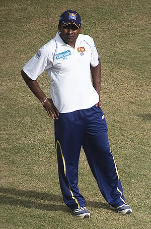 Wayamba cricket team - Mahela Jayawardene of Wayamba.