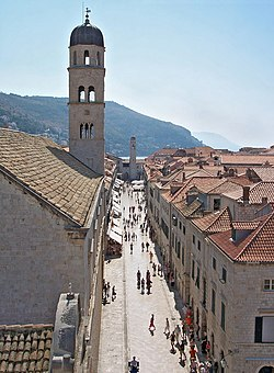 Stradun, Dubrovnik's main street