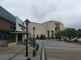 Exton Square Mall - Round One Entertainment and Main Line Health occupies the area close to the old JCPenney store location.