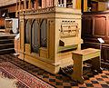 Malchow Orgelmuseum Klosterkirche Lütkemüllerorgel aus Mesendorf 2.jpg