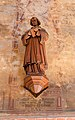 Malchow Orgelmuseum Klosterkirche Statue Martin Bambam.jpg