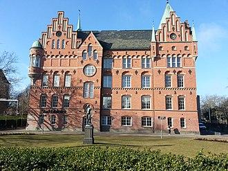 Malmö City Library - Image: Malmö stadsbibliotek Bibliothèque de Malmö Malmö city library (old building view)