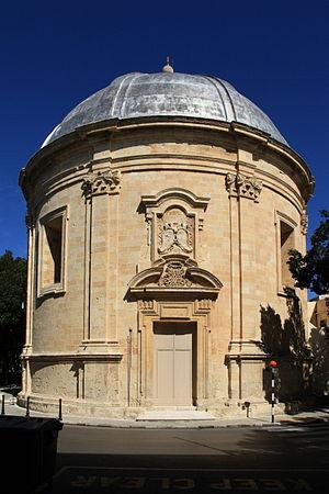 Sarria Church - Image: Malta Floriana Triq Sarria Sarria Church 04 ies