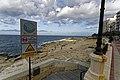 Malta - St. Julian's - Sliema - Sliema Promenade - Fond Ghadir Beach 01.jpg