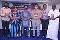 Mamidi Harikrishna releasing Culture department publications in Telangana Digital Media Conference 02.jpg
