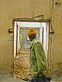 Man looking right to an destroyed house - Nishapur (Edited).jpg