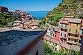 Manarola, Cinque Terre, Italy seen from hill.jpg