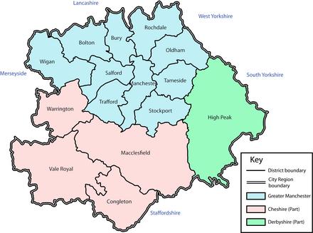 Greater Manchester Statutory City Region Wikiwand