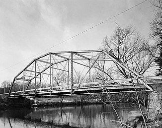 Manchester Street Bridge in Baraboo