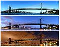 Manhattan Bridge- Day into Night (21395190553).jpg