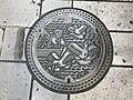 Manhole cover of Hita, Oita 3.jpg
