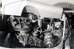 Norton Manx - Norton Manx Engine in a Cooper race car