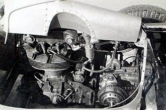 Norton Manx - Norton Manx Engine in a Cooper race car