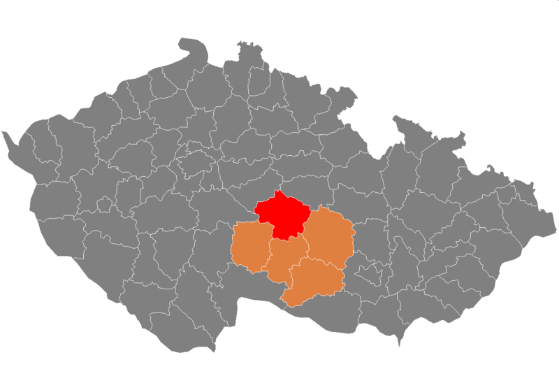 Ficheiro:Map CZ - district Havlickuv Brod.png