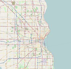 (Voir situation sur carte : Milwaukee)