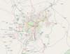 100px map yerevan