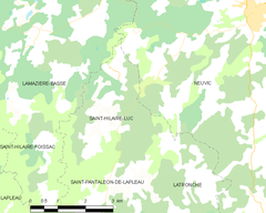 Map commune FR insee code 19210.png