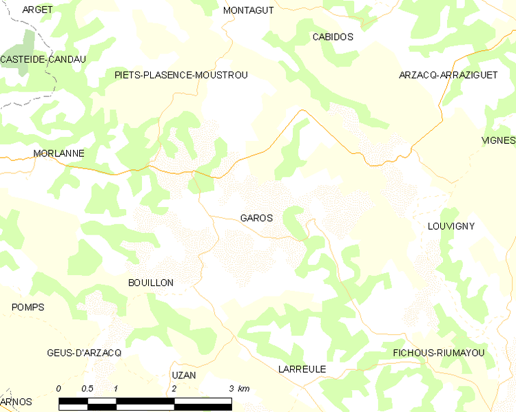 File:Map commune FR insee code 64234.png