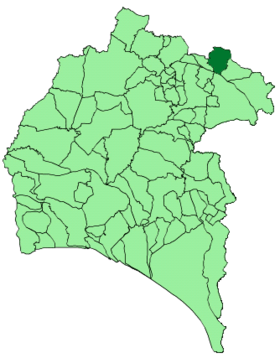 Map of Arroyomolinos de León (Huelva).png