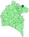 Map of Arroyomolinos de León (Huelva).png