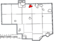 Map of Columbiana County Ohio Highlighting Leetonia Village.png