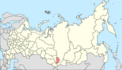 Map of Russia - Republic of Khakassia (2008-03).svg