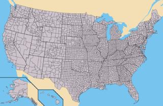 regionale Verwaltungseinheit in den Vereinigten Staaten, vergleichbar mit dem Landkreis