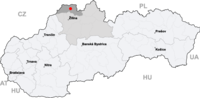 Map slovakia cadca.png