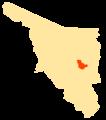Mapa Municipios Sonora San Pedro de la Cueva.png