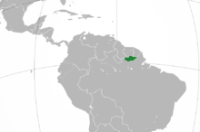 Location of República de San Teodoro