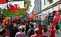 March for Welsh Independence arranged by AUOB Cymru First national march; Wales, Europe 29.jpg