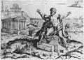 Marco Dente, Tod des Laokoon, Kupferstich.png