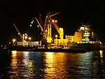 Marcor 2 unloading Fernando by night in Rotterdam pic3.JPG