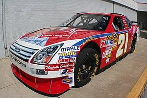 Marcos Ambrose - 2008 No. 21 Sprint Cup car