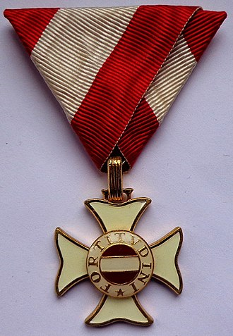 Military Order of Maria Theresa - Knight's Cross (obverse)