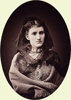 Marie Fox - This albumen print of Princess Marie, produced around 1872, was acquired by Queen Victoria and is now part of the Royal Collection.